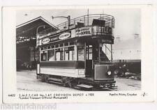 S.M.E.T. Car No.1 at Croydon Depot Pamlin Postcard, B433