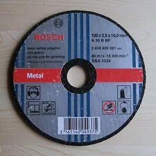 Trennscheibe - BOSCH - für Metall - 100 x 2,5 x 16,0 mm - NEU & OVP