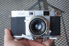 VINTAGE Ricoh 500 Rangefinder 35mm Film Camera Riken Ricomat 45mm F/2.8 lens