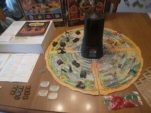 Vintage 1981 Dark Tower Board Game Milton Bradley Game - Almost Complete