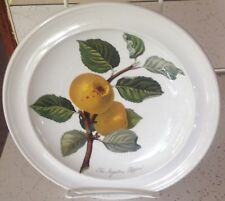 "PORTMEIRION POMONA INGESTRIE PIPPIN APPLE 7 3/8"" B&B PLATE 100%UNUSED BUY IT NOW"