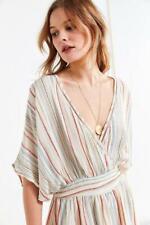 4ba77ec6fc24 188920 New Urban Outfitters Uo Moonstruck Surplice Kimono Lace Romper Small  S