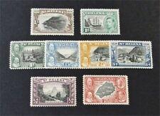 nystamps British St. Helena Stamp # 101//119 Mint OG H $30