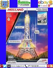 Meccano Mec6024900 Tour Eiffel/brooklyn Bridge Modellino Die cast Model