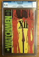 Watchmen #12 1987 Alan Moore Death of Rorschach CGC 9.4 Dave Gibbons