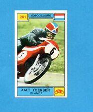 CAMPIONI SPORT 1969-70-PANINI-Figurina n.261- TOERSEN -OLANDA-MOTOCICLISMO-Rec