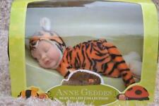 "PJs CuTe 💗 ANNE GEDDES 💗 BABY TIGER DOLL 💗 9"" 23cm BEAN FILLED COLLECTION NEW"