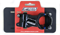 """FSA Afterburner Threadless Bike Stem 60mm 31.8mm 1-1/8"""" Aluminum Black New"""