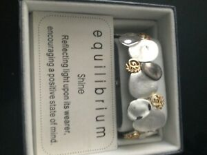 Equilibrium Shine Elastcated Bracelet New in Box