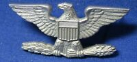 Korean War Sterling Army or USMC Colonel Rank Eagle Shoulder Insignia by Balfour