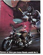 1969 Honda CB-750 Four cylinder factory original sales brochure (Reprint)  $9.00