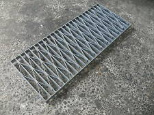 Trench Stormwater Drain Grate Galvanised Gal HDuty 450x50D New per lineal meter