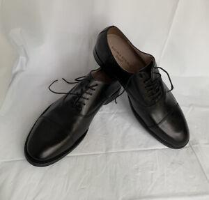 Banana Republic Shoes NWT Men's Black Italian Leather Oxfords Ortholite Tie 9.5