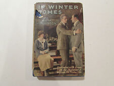 If Winter Comes, by A. S. M. Hutchinson - 1923 - Photoplay Ed., Antique H/C Book