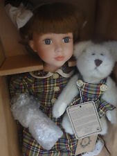 Boyds Yesterdays Child Doll Olivia With Pearl Coloring Time #98 of 1000! NIB!