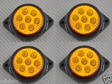 4x 7 LED 12V INDICATORE LATERALE AMBRA LUCI AUTO SUV Camper 4X4 PICK-UP