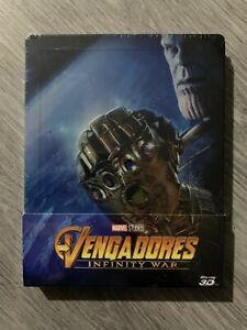 Vengadores: Infinity War - Blu-Ray Steelbook 3 discos -Version esp precintada-