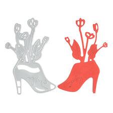 High heels Metal DIY Cutting Dies Stencil Scrapbook Album Paper Card