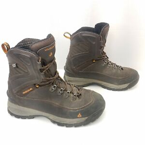 VASQUE Ultra Dry 400 gram Thinsulate Black Leather Boots 7804 Waterproof Sz 9.5
