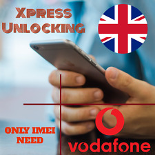 Unlock Service For Apple iPhone 4 4S 5 5C 5S 6 6S 7 8 X Unlocking VODAFONE UK