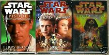 STAR WARS 1-3 PHANTOM MENACE Attack of the Clones REVENGE OF THE SITH ~ 3HC 1st