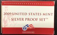 2009 US Mint Silver Proof Set 18 Gem Coins w/ Box & COA