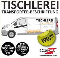 Tischlerei Tischlerei Betrieb Fahrzeug Beschriftung Werbung Auto Aufkleber #8