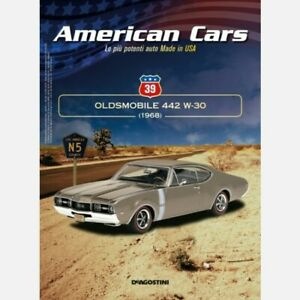 American Cars Collection modellino auto n° 39 Oldsmobile 4-4-2 W-30 Coupe 1:43