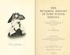 1917 FT. WAYNE Indiana IN, History and Genealogy Ancestry Family Tree DVD B36
