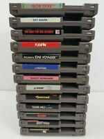 NES Nintendo Game Lot of 13 Iron Tank / Sky Shark / Target Renegade / Platoon