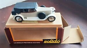SOLIDO AGE D'OR HISPANO SUIZA 1925