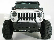 Crawler Stubby Front Bumper+Bull Bar+Winch Plate for 07-18 Jeep JK Wrangler
