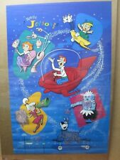 The Jetsons Hanna Barbera Vintage poster TV Show 1986 cartoon Inv#G3443