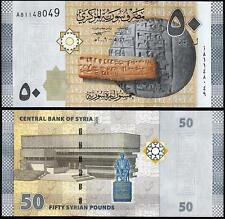 SYRIA 50 POUNDS 2009 UNC P.112