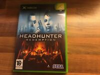 Headhunter Redemption Game (Microsoft Xbox) UK PAL