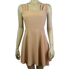 Polyester Summer Skater Dresses for Women