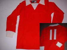 "Manchester United BEST BNWOT Bukta 1970s 26"" Boys Shirt Jersey Football Vintage"