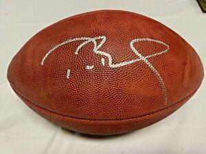 Buccaneers Patriots Tom Brady Signed Wilson Duke Football Auto Fanatics TriStar