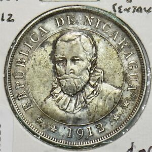 Nicaragua 1912 50 Centavos N0226 combine shipping