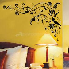 Wall Sticker Adesivo Parete Murale Vine Fiore Decorazione Carmera Studio Art DIY