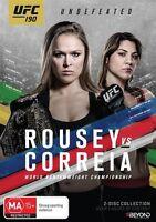 UFC #190 - Rousey Vs Correia (DVD, 2015, 2-Disc Set) Region 4