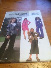 Butterick Fast & Easy Girls  paper sewing pattern New & Uncut 3959 size 12-14-16