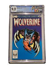 Wolverine 2 CGC 9.2 Frank Miller Custom Label 1982 Limited Series 1st Yukio