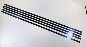 "Helmold Steel Rule Die Material 1/2"" x 30"" 2PT Hard Crease 5 Pieces Not Sharp"