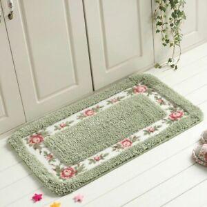 6 Sizes Square Doormat Floor Carpet Living Room Bedroom Hallway Non Slip Mat Rug