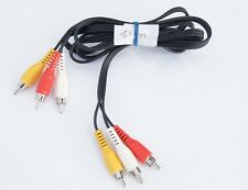 Goobay® 1,5m Chinch Audio und Video AV Composite Kabel 3x Cinch rot weiss gelb
