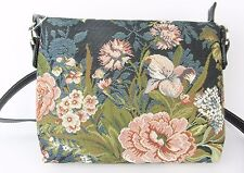 Blossom Flower Design Tapestry Small Pouch Crossbody Bag  Signare