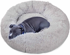 Calming Dog Beds for Small Medium Large Jumbo Size Dog Cat Anti Anxiety Fluffy b
