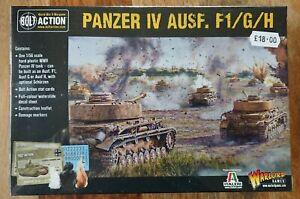 Warlord Games Bolt Action World War II Wargames Panzer IV AUSF. Tank NEW/SEALED