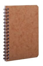 Clairefontaine Wirebound Basics Notebook Ruled Tan 35 X 55 New